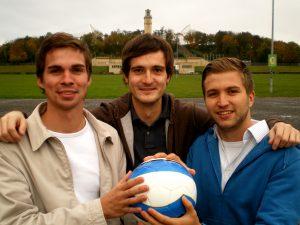 Chris, Martin, Basti